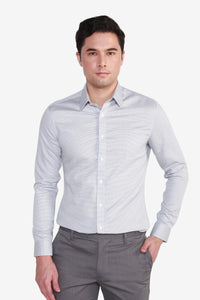 Slim Fit TECH Non Iron 2 Tone Shirt