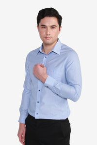 Smart Fit TECH Non Iron Stripe Shirt