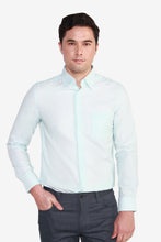 Load image into Gallery viewer, Reg Fit CVC 2 Tone Pattern Shirt