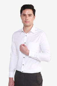 Smart Fit CVC Textured Shirt