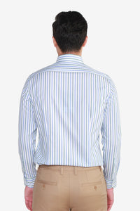 Smart Fit TECH Non Iron Awning Stripe Shirt
