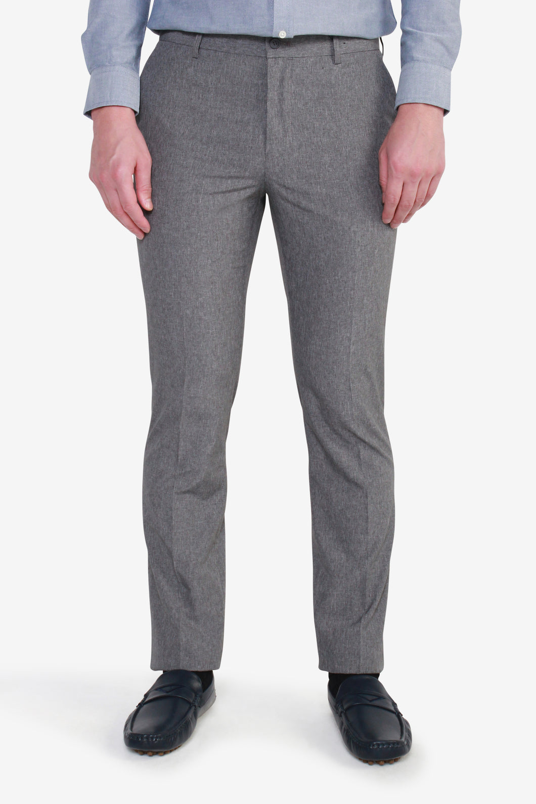 Ultra Slim Fit Polyester Plain Weave Pants