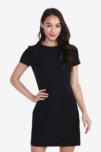 Short Sleeve Fitted Dress