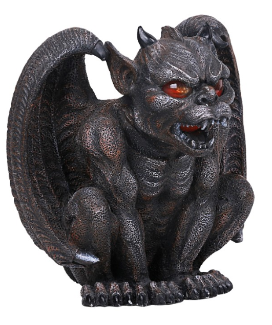 Winged Gargoyle Candle Holder