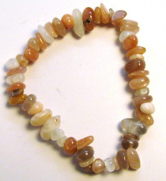 Moonstone Mix Chip Bracelet