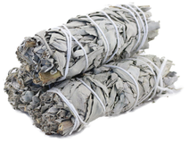 "Load image into Gallery viewer, White Sage Bundles 3""-4"""