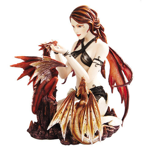 Fairy with Duel Dragons