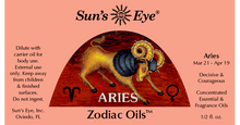 Load image into Gallery viewer, Aries Oil