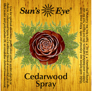 Cedarwood Spray