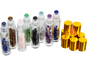 Gemstone Roll On Bottles