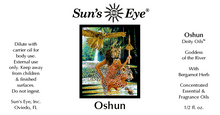 Load image into Gallery viewer, Oshun Orisha Oil / Aceite de Orisha Oshun