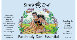 Patchouly Dark Essential Oil / Esencial Patchouly oscuro