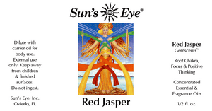 Red Jasper Oil / Jaspe Rojo