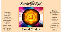 Load image into Gallery viewer, Sacral Chakra Oil / Aceite de Chakra Sacro