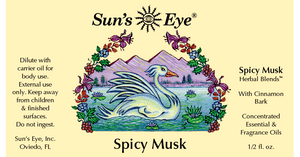 Spicy Musk Oil