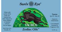 Load image into Gallery viewer, Taurus Oil