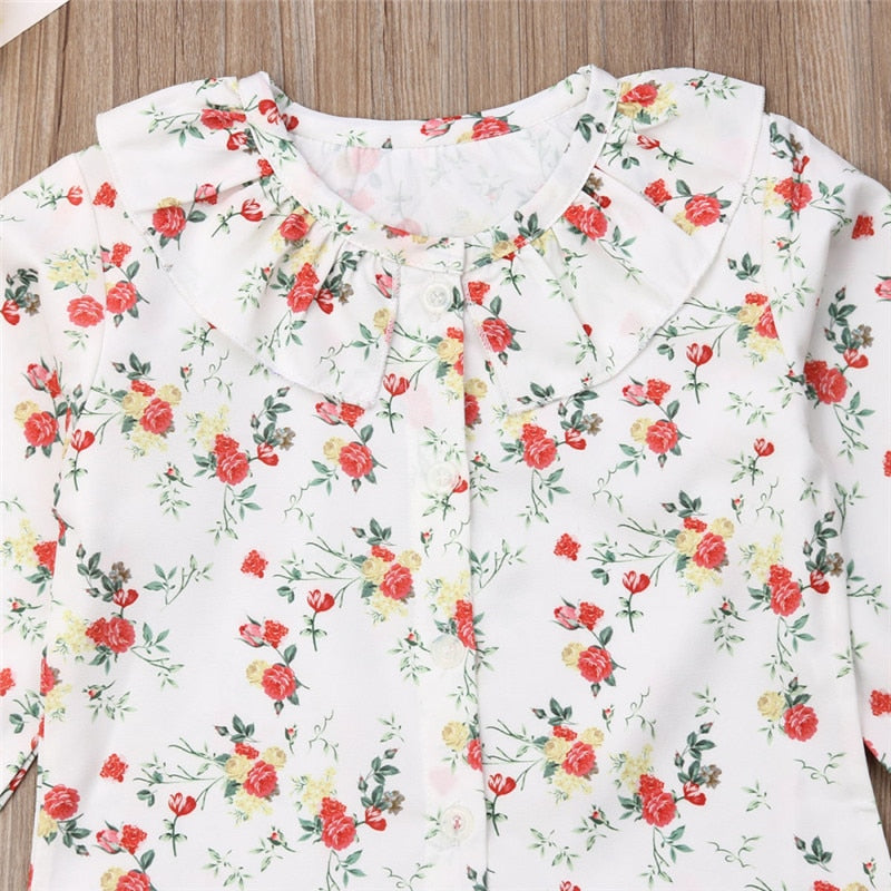 Ruffles Floral Casual
