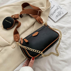 Chains Designer Shoulder Bag