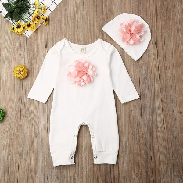 Summer Fall Baby Jumpsuit