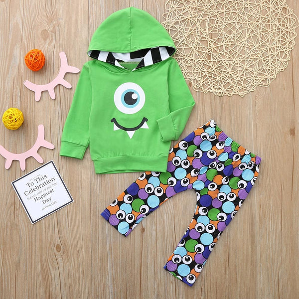 Green Baby Trendy Tracksuit