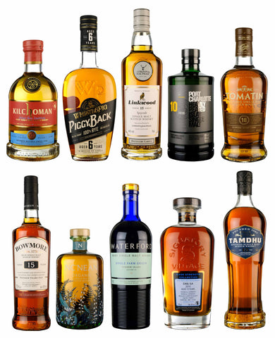 Top 10 Whiskies £50-£100