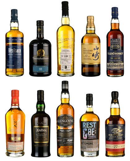 Top 10 Whiskies £100-£200