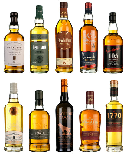 Top 10 Whiskies Under £50