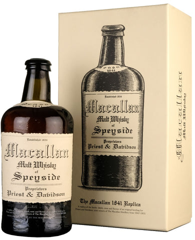 macallan, replica, 1841, 3rd, release, speyside, single, malt, scotch, whisky, whiskey