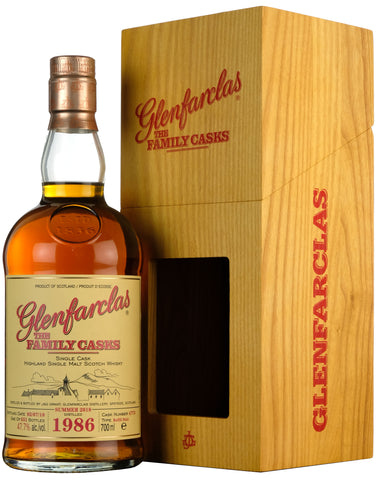 Glenfarclas 1986-2018 | 31 Year Old The Family Cask 4775