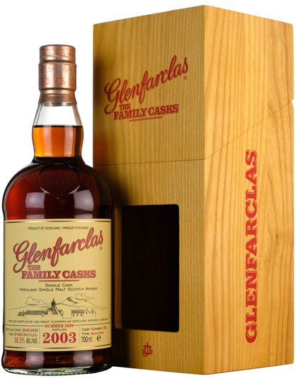 Glenfarclas 2003-2020 | 17 Year Old The Family Cask 102