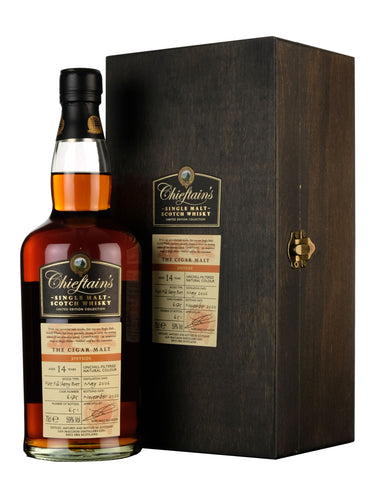 The Cigar Malt 2006-2020 | 14 Year Old Chieftains Cask 6175