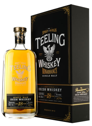 Teeling 18 Year Old The Renaissance Series 2