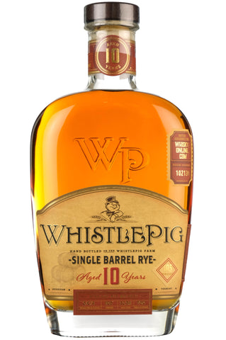 WhistlePig Rye Whiskey 10 Year Old | Barrel Pick 102130 | Whisky-Online Exclusive
