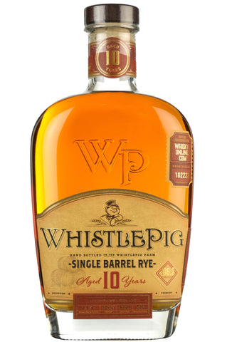 WhistlePig Rye Whiskey 10 Year Old | Barrel Pick 102222 | Whisky-Online Exclusive
