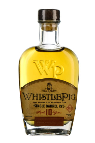 WhistlePig Rye Whiskey 10 Year Old | Barrel Pick 102222 | Whisky-Online Exclusive Miniature