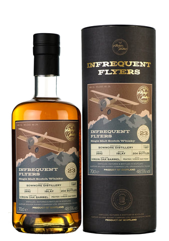 Bowmore 1997-2020 | 23 Year Old Infrequent Flyers