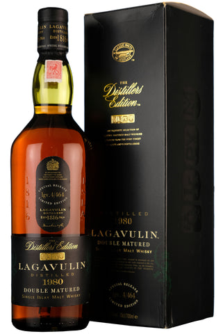 Lagavulin 1980 Distillers Edition