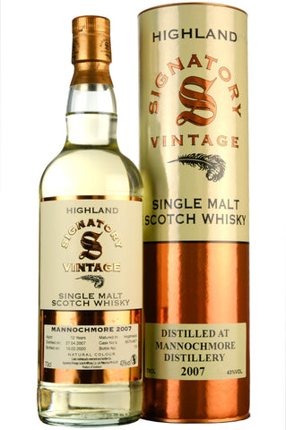 Mannochmore 2007-2020 | 12 Year Old | Signatory Vintage Cask 6670 + 6671
