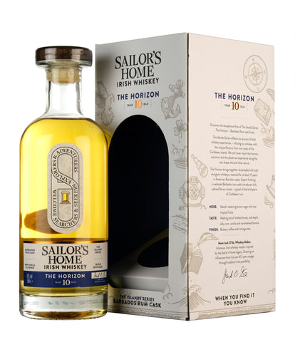 Sailor's Home The Horizon | 10 Year Old Irish Whiskey