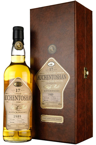 Auchentoshan 1989-2007 | 17 Year Old | World Of Whiskies Single Cask 7568