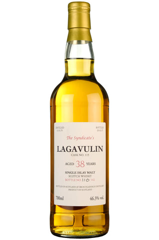 Lagavulin 1979-2017 | 38 Year Old | The Syndicate's Single Cask 115