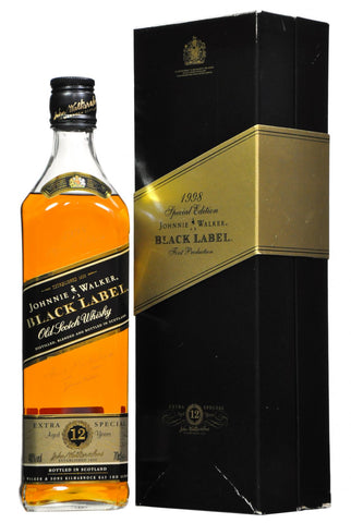 johnnie walker, black label, blended, whisky, whiskey