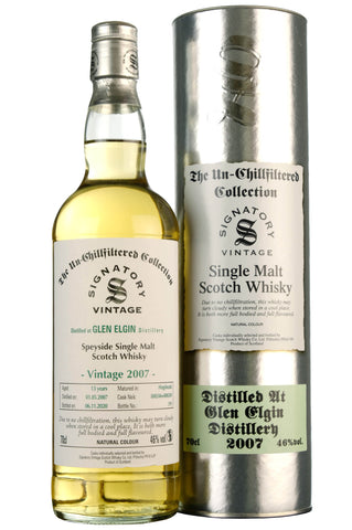 Glen Elgin 2007-2020 | 13 Year Old | Signatory Vintage Cask 800246 + 800249