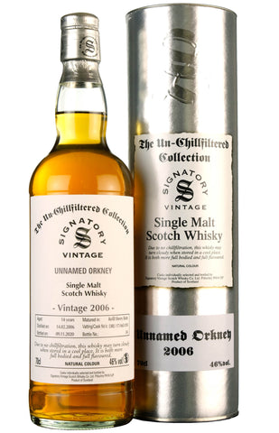Unnamed Orkney 2006-2020 | 14 Year Old | Signatory Vintage Cask DRU 17/A65 #10