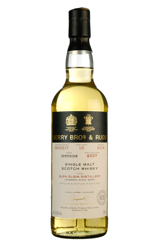 Glen Elgin 2007-2018 | 10 Year Old | Berry Bros & Rudd Cask 3800317