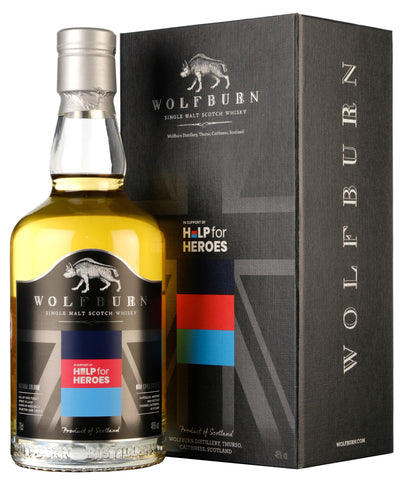 Wolfburn Help For Heroes Limited Edition