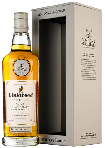 Linkwood 15 Year Old Distillery Labels