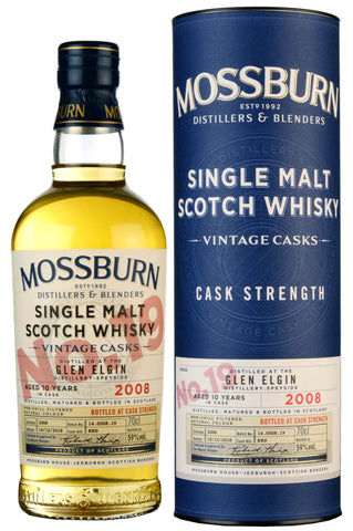 Glen Elgin 2008-2018 | 10 Year Old | Mossburn Vintage Casks