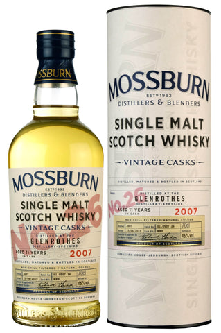 Glenrothes 2007-2019 | 11 Year Old | Mossburn Vintage Casks