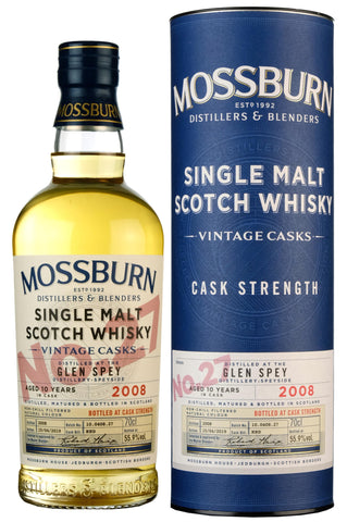 Glen Spey 2008-2019 | 10 Year Old | Mossburn Vintage Casks